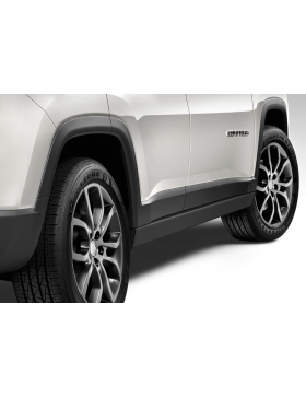 Rock Rails nere Jeep Compass