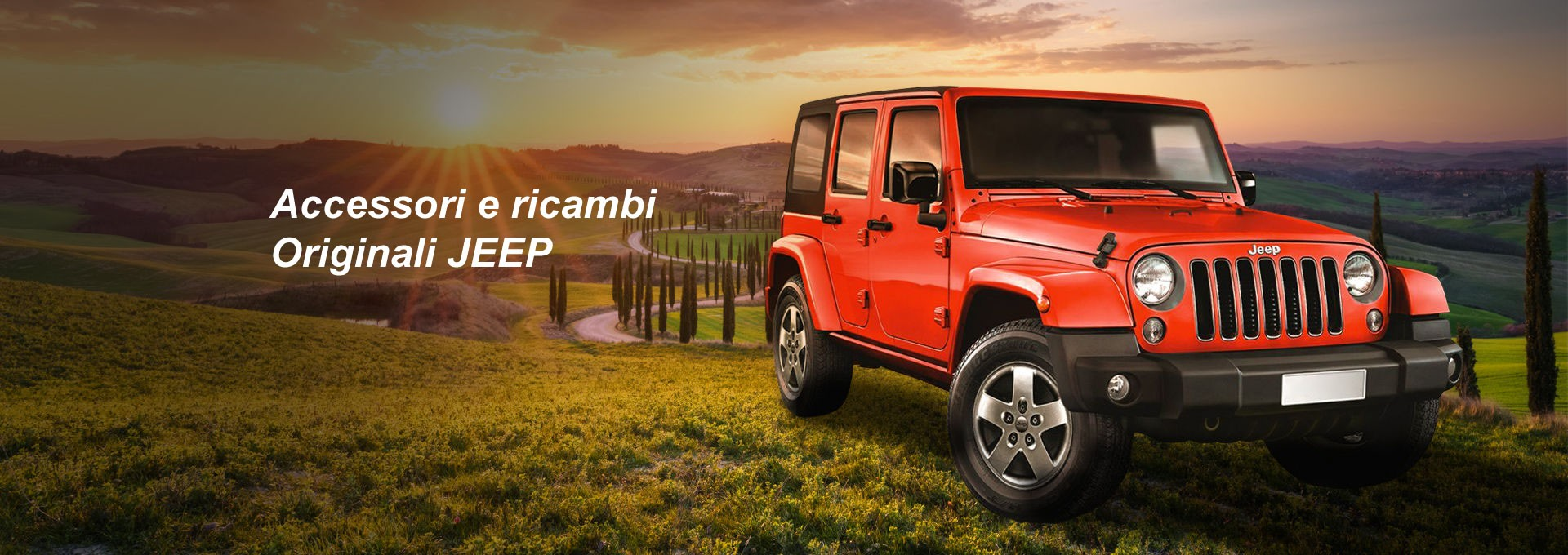 ACCESSORI E RICAMBI ORIGINALI JEEP
